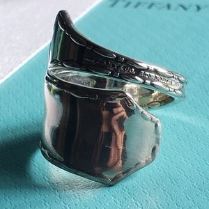 1902 Tiffany & Co. Marquise Spoon ring